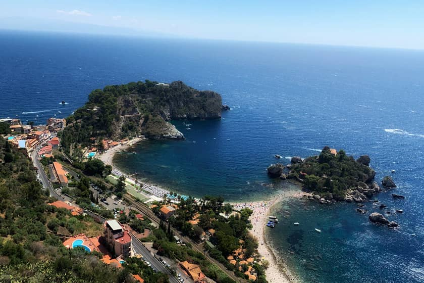 Taormina - Map of Italy